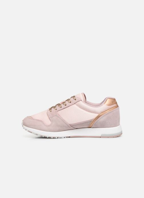 Baskets Le Coq Sportif Jazy W Boutique Rose vue face
